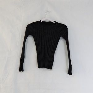 Topshop Black Ultra Stretchy Sweater
